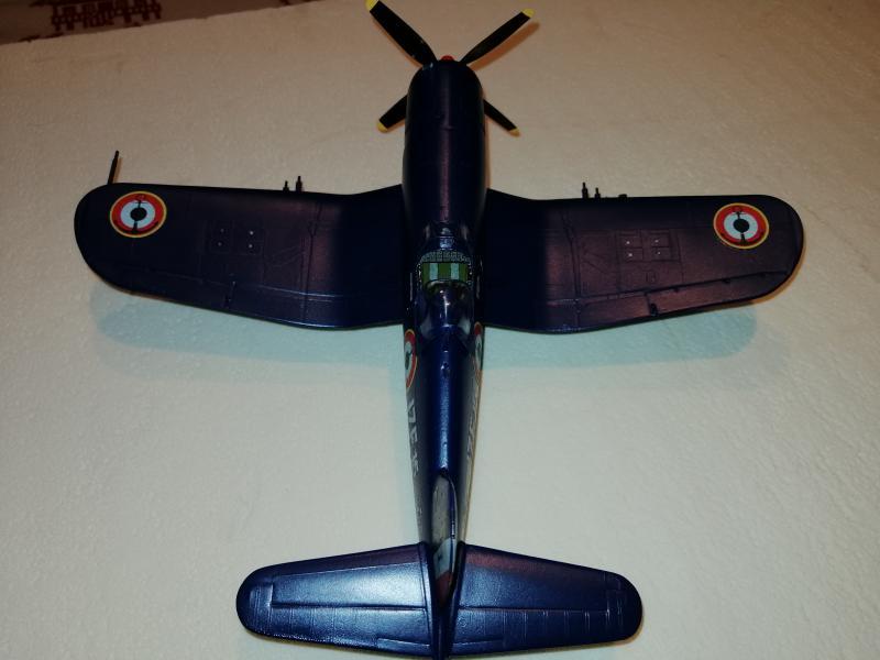 CORSAIR AU-1 Heller 1/48 FINI !!!!!! 3627
