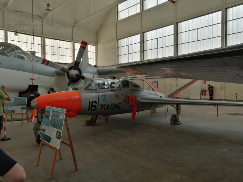 visite du petit musée de l'aéronaval de Rochefort 363