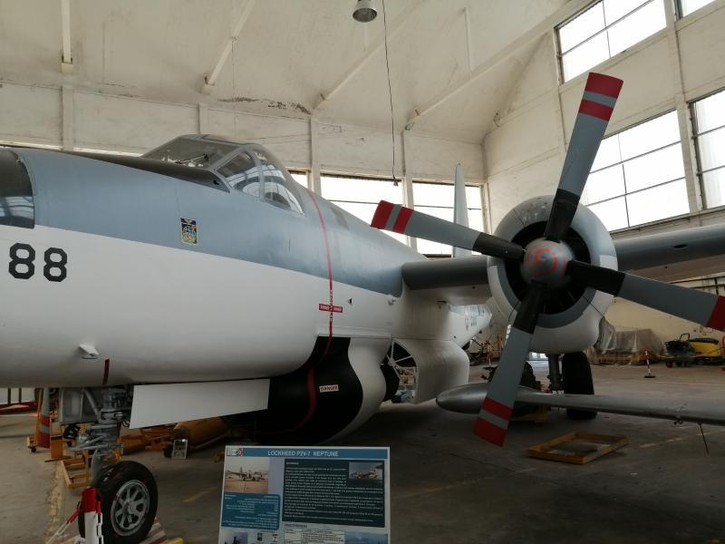 visite du petit musée de l'aéronaval de Rochefort 365