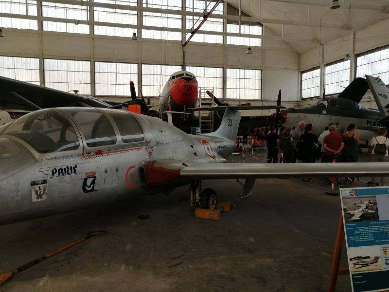 visite du petit musée de l'aéronaval de Rochefort 366
