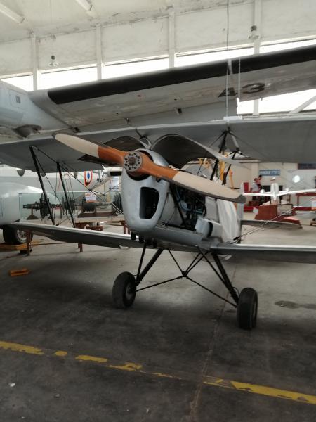 visite du petit musée de l'aéronaval de Rochefort 367