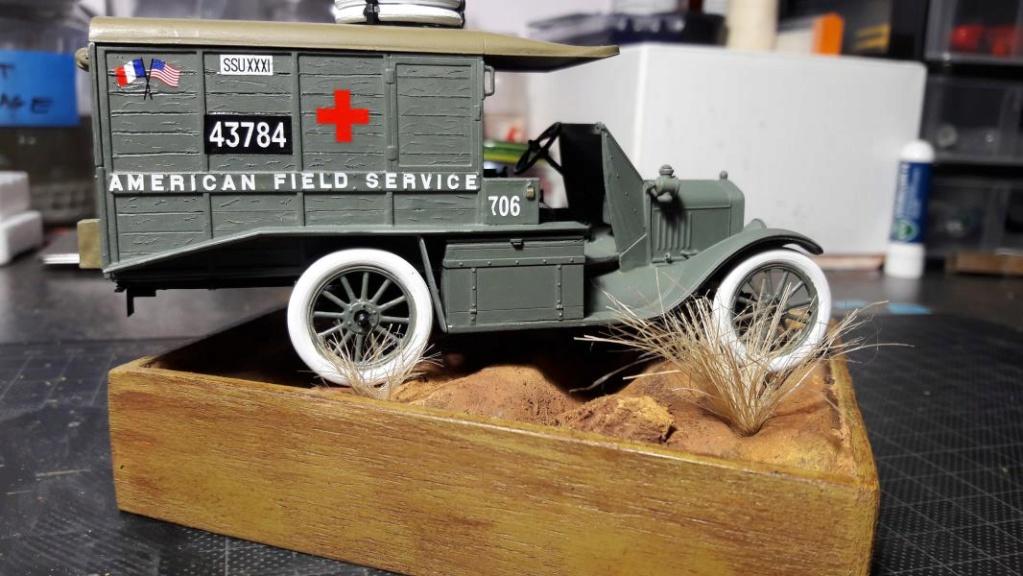 Fil rouge 2019 : Model T ambulance 1917 1/35 de chez ICM *** Terminé en pg 3 - Page 2 3812