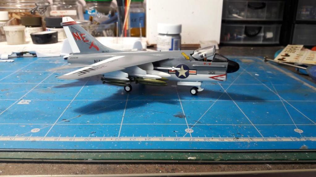 A-7A Corsair 2 1/72 de chez Frog 3819