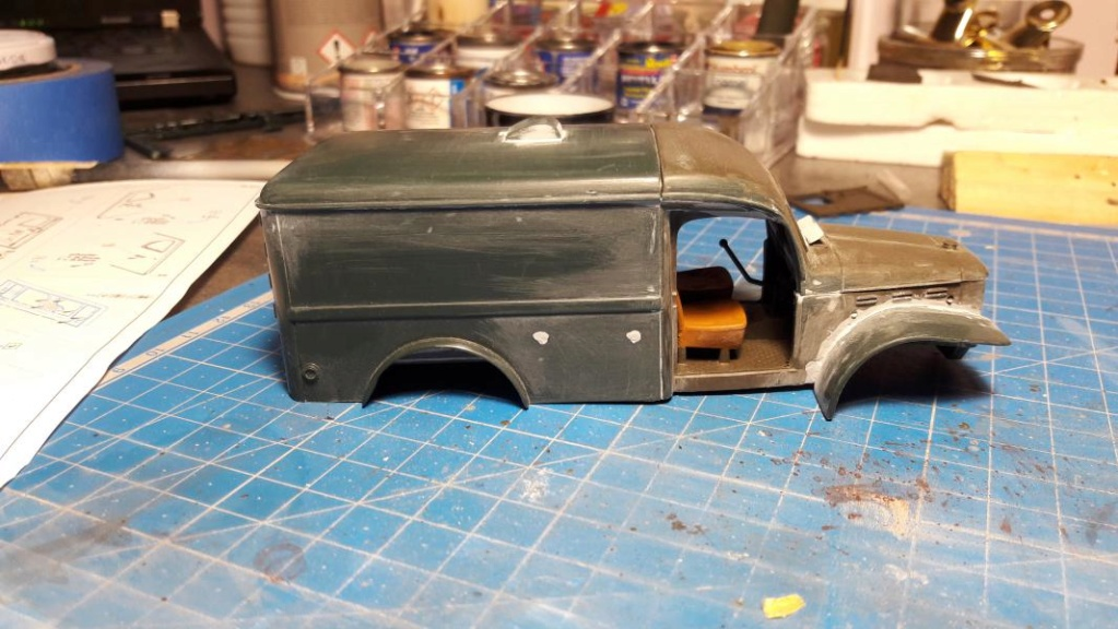 Dodge ambulance WC 54 1/35 Italieri 4016