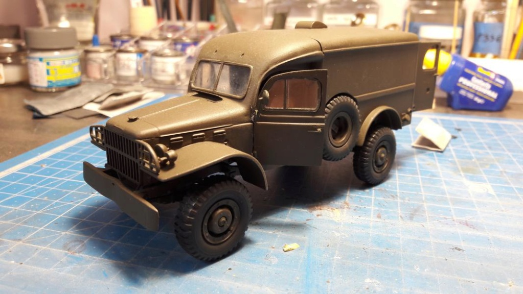 Dodge ambulance WC 54 1/35 Italieri 4215