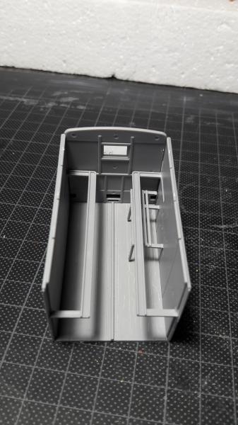 Fil rouge 2019 : Model T ambulance 1917 1/35 de chez ICM *** Terminé en pg 3 432