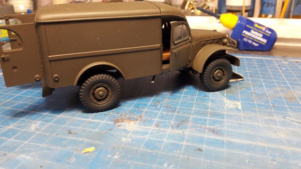 Dodge ambulance WC 54 1/35 Italieri 4413