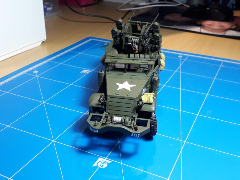 U.S. Multiple Gun Motor Carriage M16 1/35 Tamiya  FINI !!!!!!!! 4510