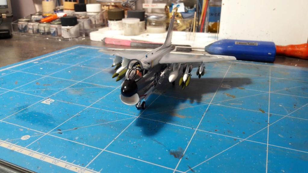 A-7A Corsair 2 1/72 de chez Frog 4515