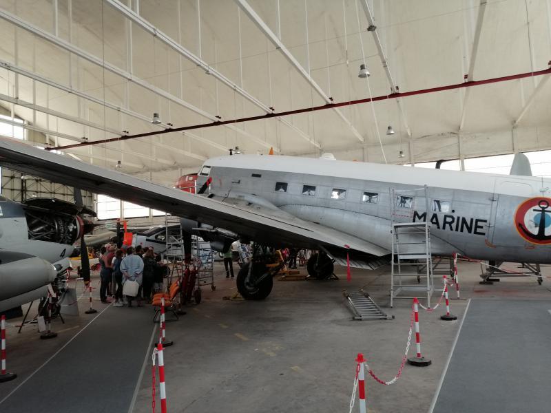 visite du petit musée de l'aéronaval de Rochefort 461