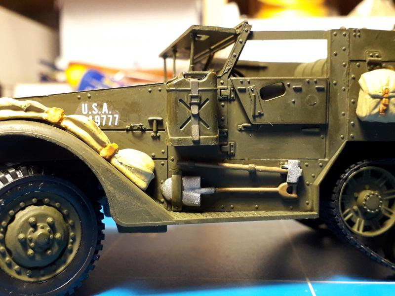 U.S. Multiple Gun Motor Carriage M16 1/35 Tamiya  FINI !!!!!!!! 4710