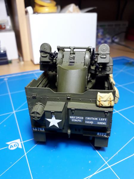 U.S. Multiple Gun Motor Carriage M16 1/35 Tamiya  FINI !!!!!!!! 4910