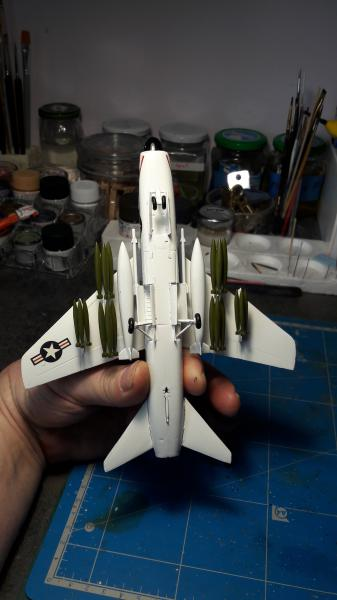 A-7A Corsair 2 1/72 de chez Frog 4914