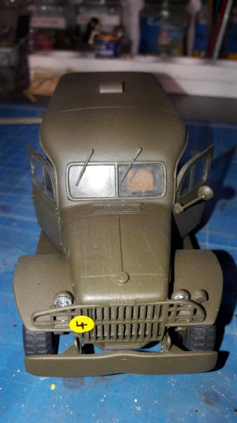 Dodge ambulance WC 54 1/35 Italier iVraiment FINI !!!!!!  - Page 2 5212