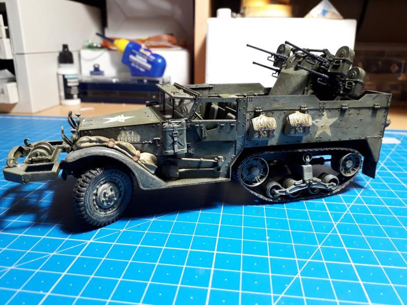 U.S. Multiple Gun Motor Carriage M16 1/35 Tamiya  FINI !!!!!!!! - Page 2 5310