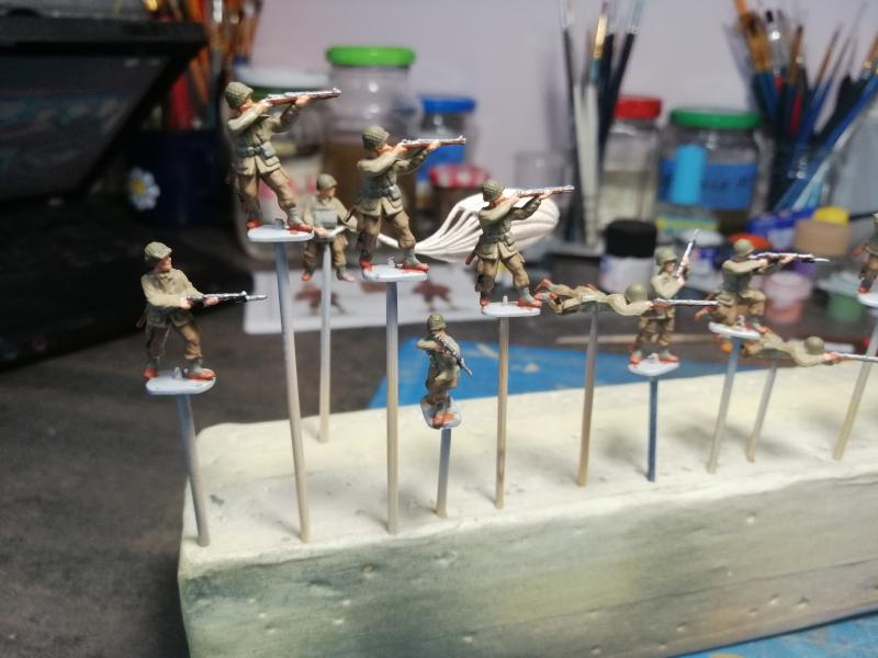 Préparation futur diorama WW2 au 1/72 5318
