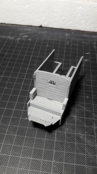 Fil rouge 2019 : Model T ambulance 1917 1/35 de chez ICM *** Terminé en pg 3 533