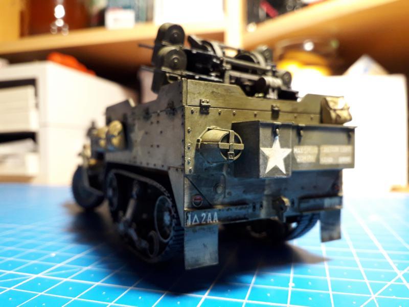 U.S. Multiple Gun Motor Carriage M16 1/35 Tamiya  FINI !!!!!!!! - Page 2 5410