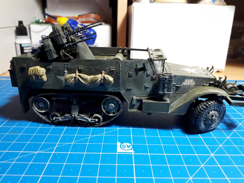 U.S. Multiple Gun Motor Carriage M16 1/35 Tamiya  FINI !!!!!!!! - Page 2 5510