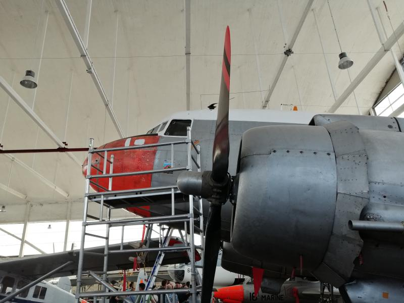 visite du petit musée de l'aéronaval de Rochefort 561