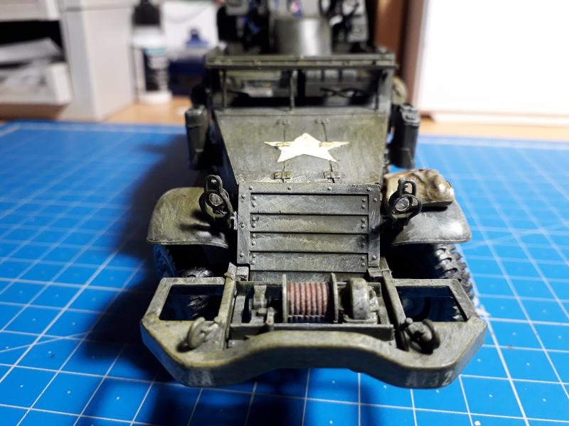 U.S. Multiple Gun Motor Carriage M16 1/35 Tamiya  FINI !!!!!!!! - Page 2 5610