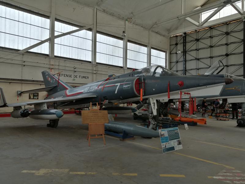 visite du petit musée de l'aéronaval de Rochefort 562