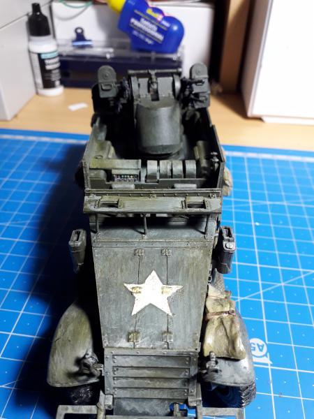 U.S. Multiple Gun Motor Carriage M16 1/35 Tamiya  FINI !!!!!!!! - Page 2 5710