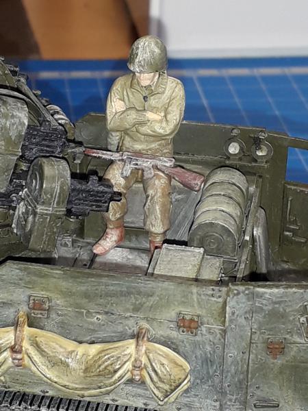 U.S. Multiple Gun Motor Carriage M16 1/35 Tamiya  FINI !!!!!!!! - Page 2 5810