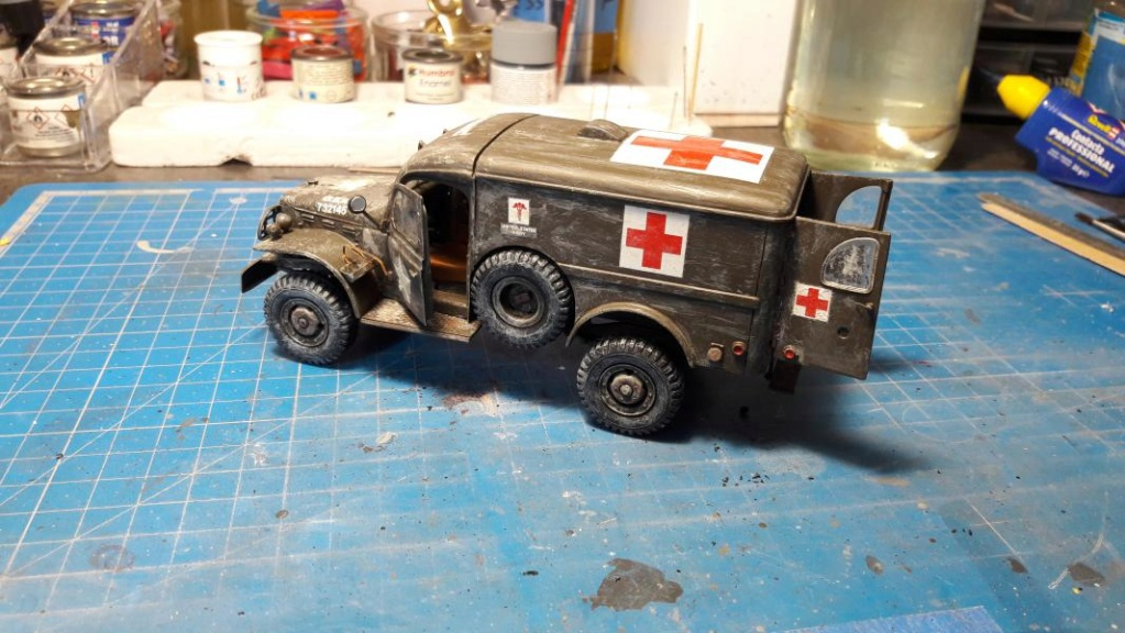 Dodge ambulance WC 54 1/35 Italieri 5813