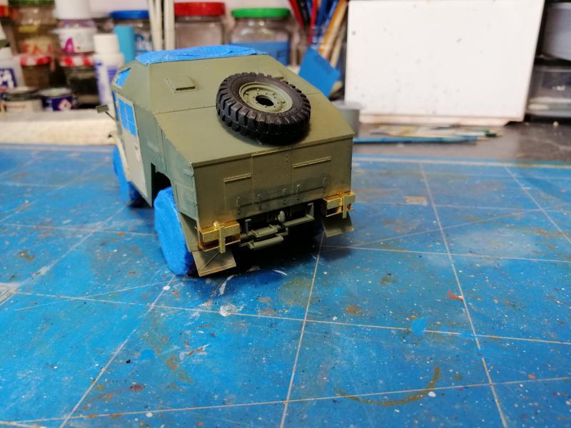 British 25 PDR. Field Gun & Quag Gun Tractor Canadian Ford F.G.T. Tamiya  1/35 - Page 2 5819
