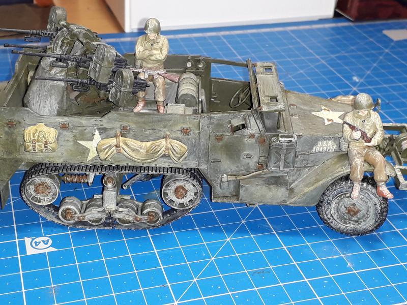 U.S. Multiple Gun Motor Carriage M16 1/35 Tamiya  FINI !!!!!!!! - Page 2 6010