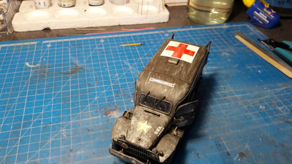 Dodge ambulance WC 54 1/35 Italieri 6013