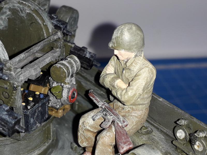 U.S. Multiple Gun Motor Carriage M16 1/35 Tamiya  FINI !!!!!!!! - Page 2 6110