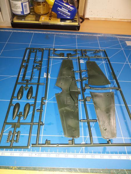Ouvre-boite: P-51B Mustang de chez Revell 617
