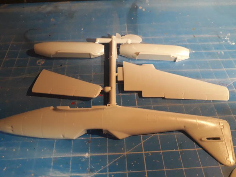 Ouvre-boite Messerschmitt ME 262A 1/72 Airfix 618