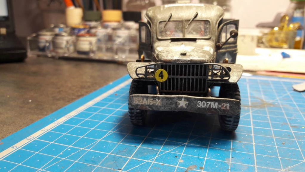Dodge ambulance WC 54 1/35 Italieri 6312
