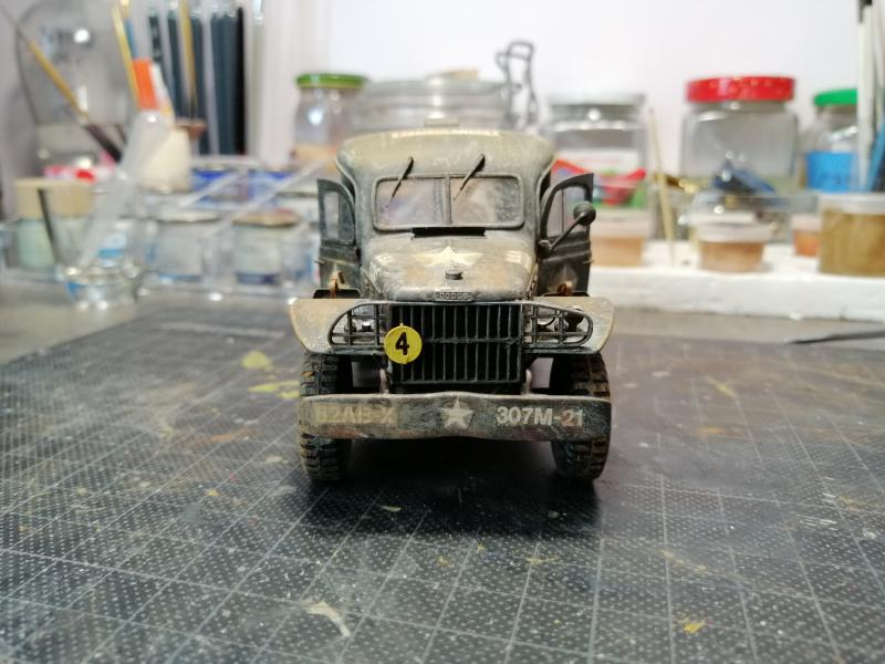 Dodge ambulance WC 54 1/35 Italier iVraiment FINI !!!!!!  - Page 5 6314