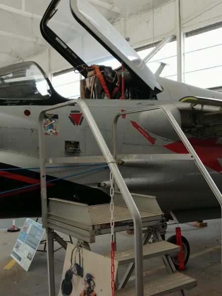 visite du petit musée de l'aéronaval de Rochefort 654