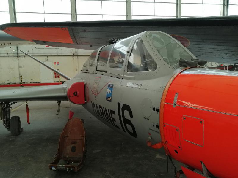 visite du petit musée de l'aéronaval de Rochefort 656