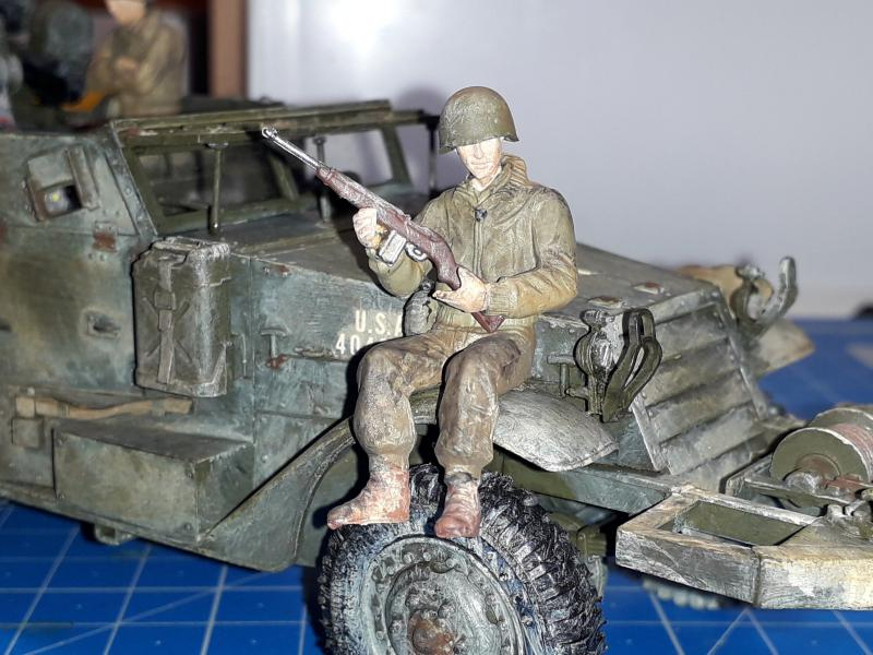 U.S. Multiple Gun Motor Carriage M16 1/35 Tamiya  FINI !!!!!!!! - Page 3 6912