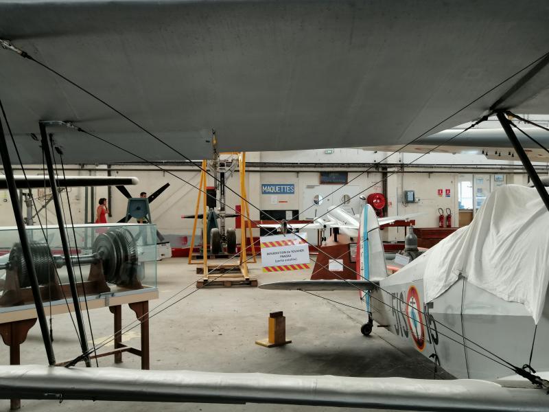 visite du petit musée de l'aéronaval de Rochefort 754