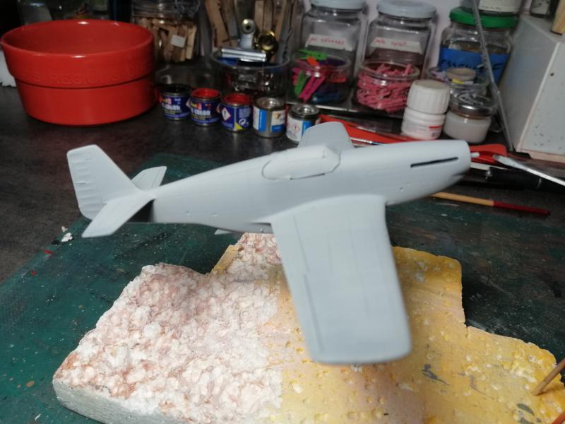 P-51B Mustang de chez Revell au 1/72 FINI !!!!! 857