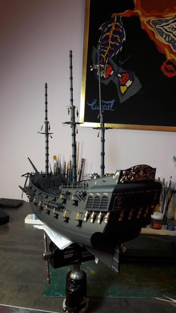Le Blackpearl Revell 1/72 - Page 4 8610