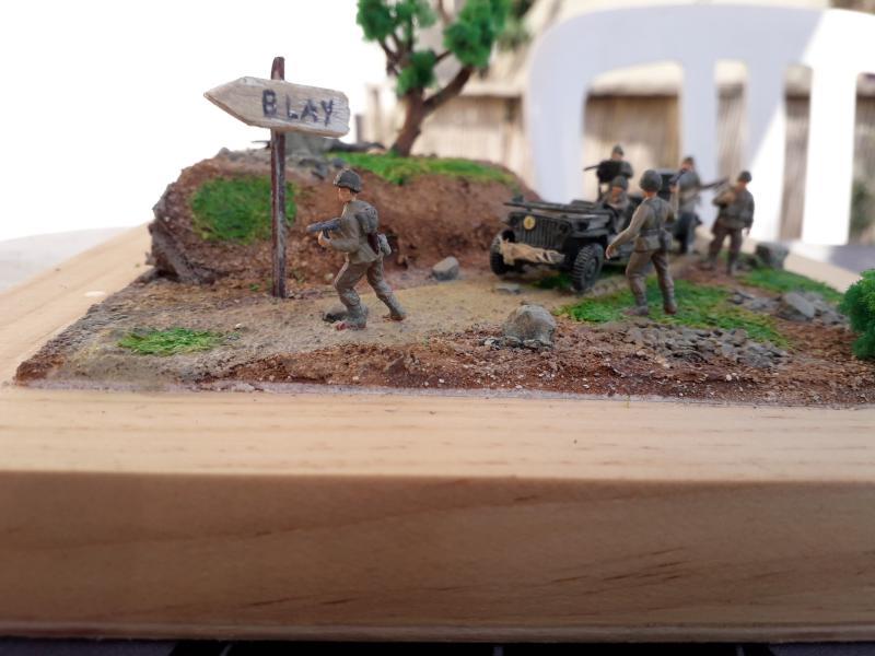 1st Infantry Division en route pour la libération de Blay (14400) 9 juin 1944 fini!!! A11