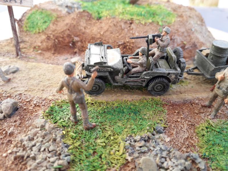 1st Infantry Division en route pour la libération de Blay (14400) 9 juin 1944 fini!!! C11