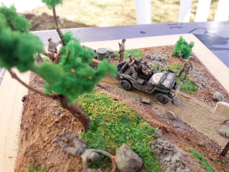 1st Infantry Division en route pour la libération de Blay (14400) 9 juin 1944 fini!!! E11