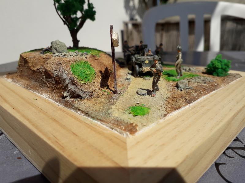 1st Infantry Division en route pour la libération de Blay (14400) 9 juin 1944 fini!!! F11
