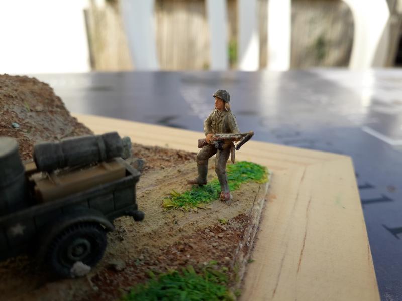 1st Infantry Division en route pour la libération de Blay (14400) 9 juin 1944 fini!!! H11
