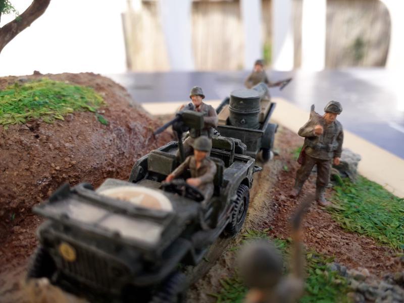1st Infantry Division en route pour la libération de Blay (14400) 9 juin 1944 fini!!! I10