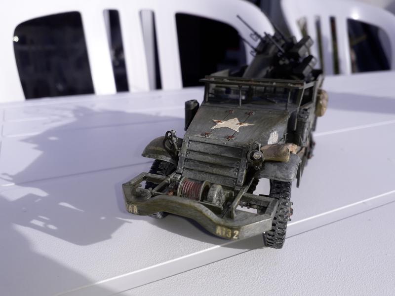 U.S. Multiple Gun Motor Carriage M16 1/35 Tamiya  FINI !!!!!!!! - Page 2 Min10